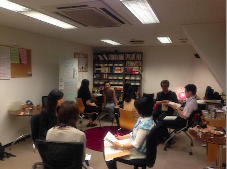 生田早智江さんソフィーのiClassにゲスト参加